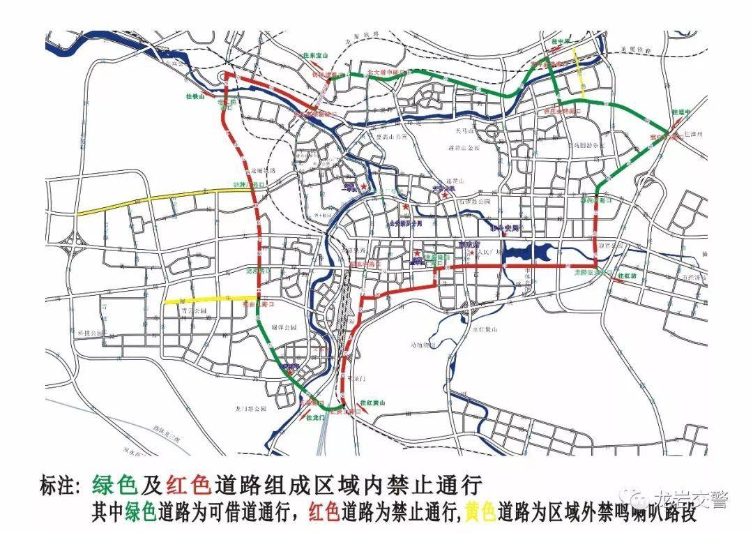 本月13日起1.5吨以上载货汽车在西翠路全路段限行