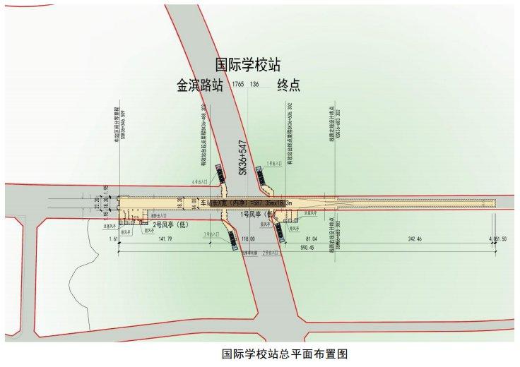 福州地铁6号线东调段站点位置