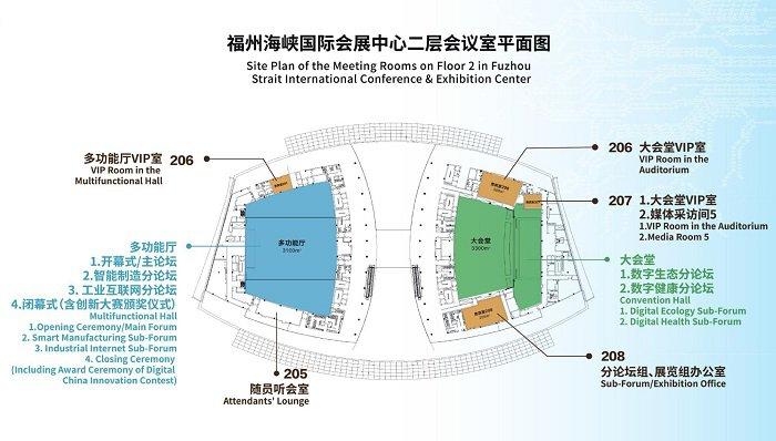 2019数字中国建设峰会大会手册