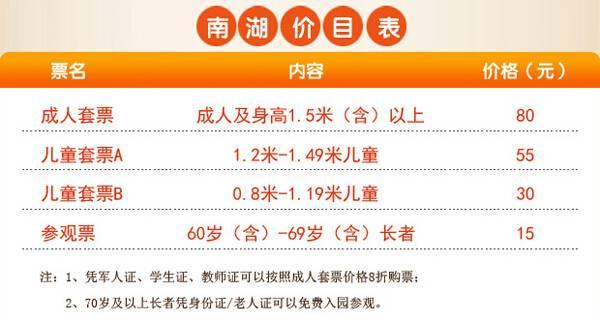 广州南湖游乐园游玩全攻略(门票、交通)