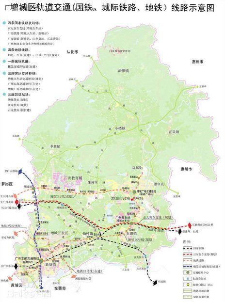 广州地铁16号线新塘到荔城将设13个站点 一览图片