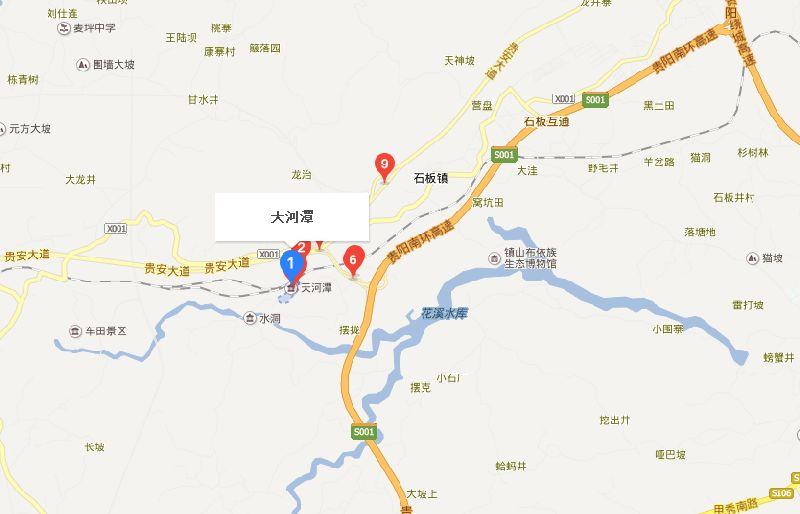 贵阳市天河潭地图