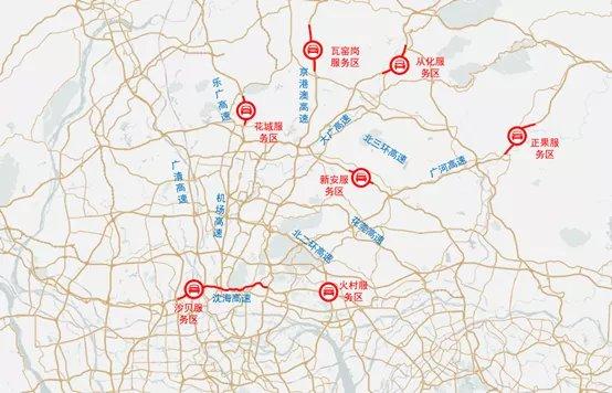 广州2021春节期间哪些服务区容易堵车?