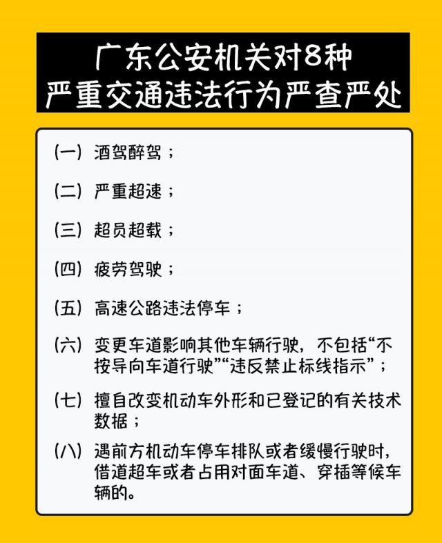 2021广州交通违法处罚常见问答汇总