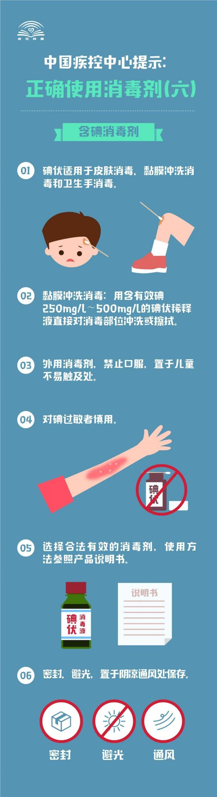 含碘消毒剂使用注意事项一览