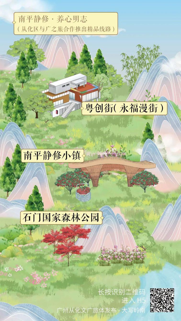 广州从化8条主题旅游线路(自由行+精品线路)