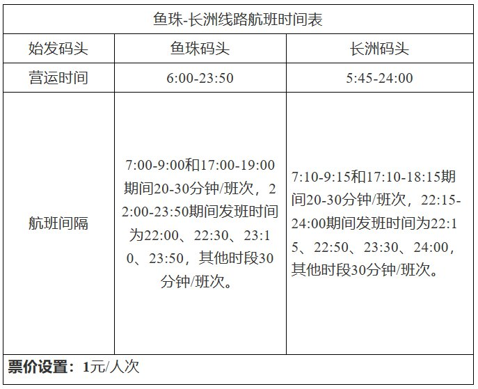 2020广州码头航班调整公告