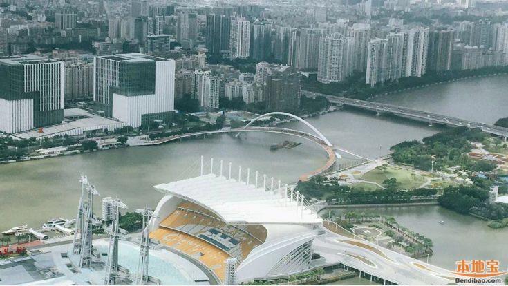 2021广州海心沙3号桥重新开放