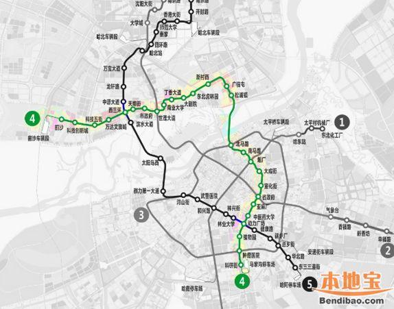 3国小镇2寿春路线图-哈尔滨3号地铁线路图-哈尔滨地铁规划图一览