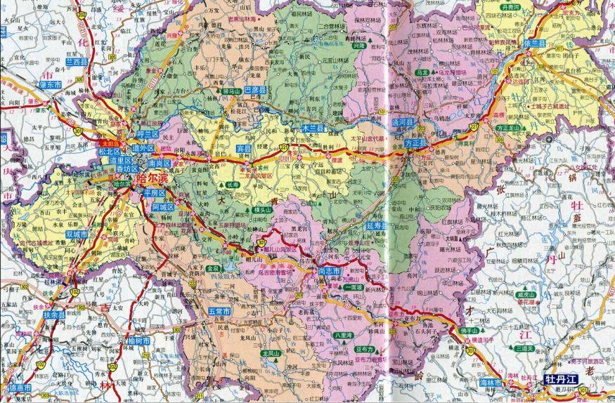 中国省会地图-2016年8月份哈尔滨市双城区的低保能涨吗