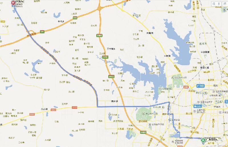 3号线线路图请看>>>合肥新桥机场大巴