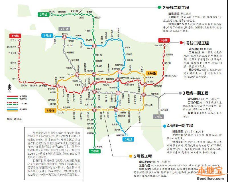 合肥地铁2号线规划图 最新