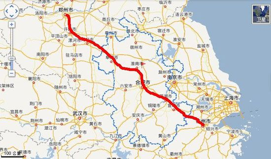 郑合高铁最新规划设计