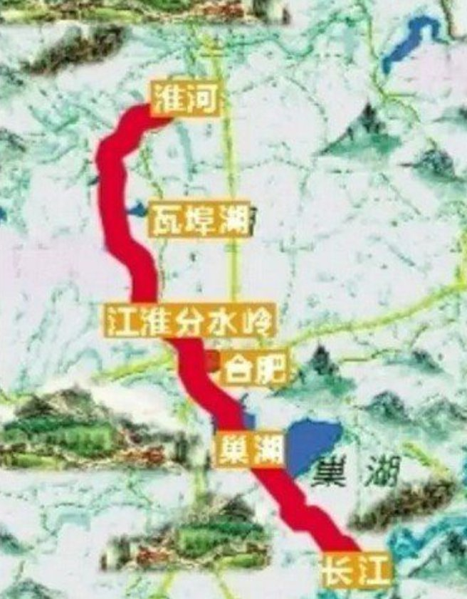 引江济淮工程线路图(最新高清大图)- 合肥本地宝