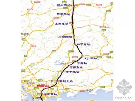 赣深高铁最新线路图-赣深高铁最新消息 赣深高铁开通时间 赣深高铁线