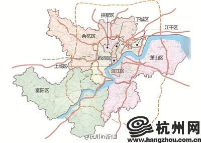 3月22日新版杭州市区地图开卖