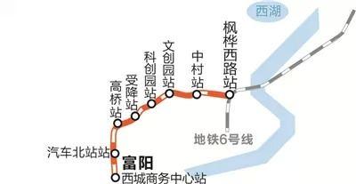 杭富城际铁路最新消息(开通时间+线路图+站点)
