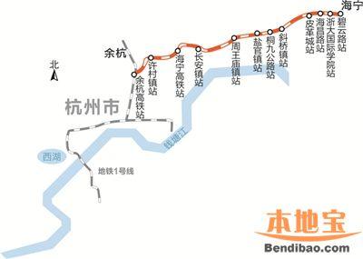 杭宁城际铁路工程进度