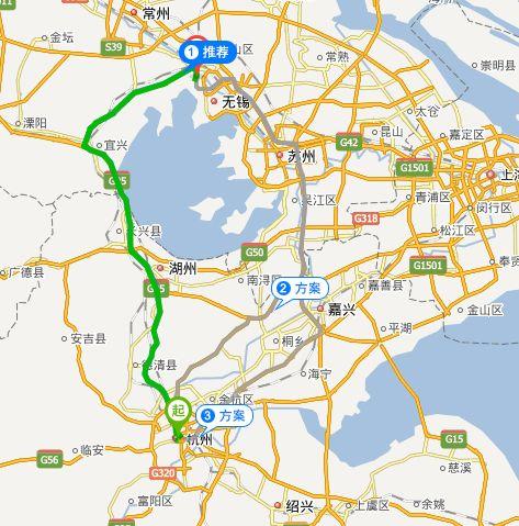 无锡动物园自驾路线(杭州出发)