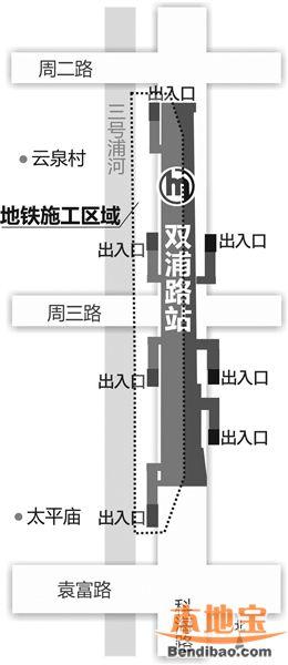车站采用明挖顺筑法施工,计划总工期约为两年半,其中主体结构施工的近
