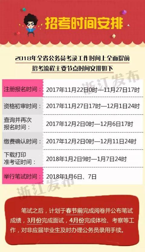 河池公务员考试报名_2018浙江省公务员考试指南(时间+报名)- 杭州本地宝