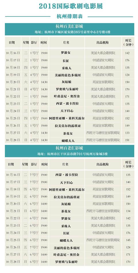 2018年杭州国际歌剧电影展