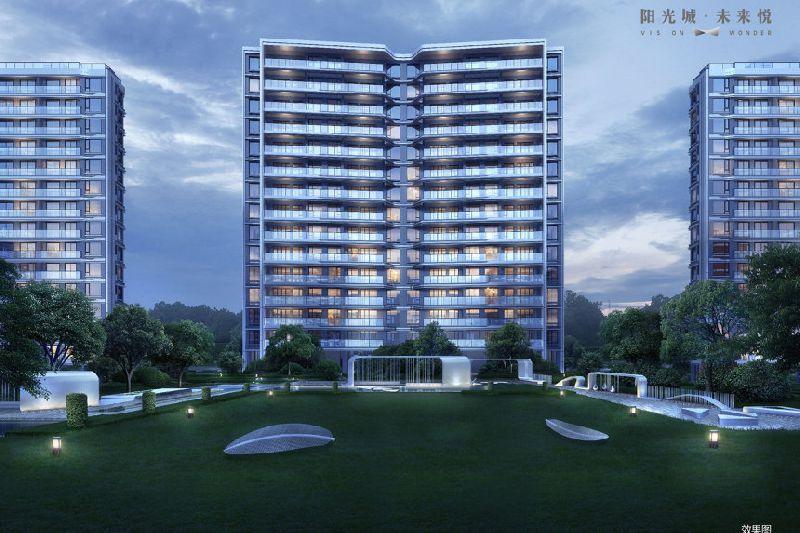 阳光城未来悦1-3幢、8幢楼盘公示