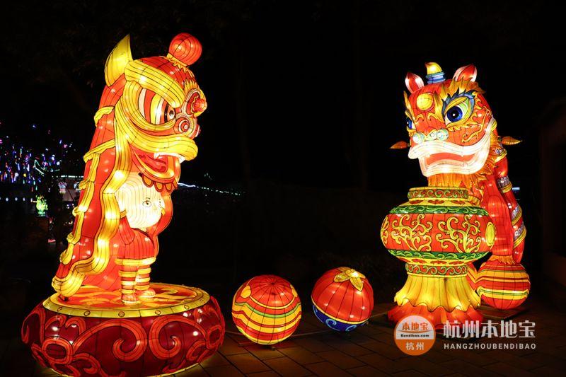 2020杭州江月园灯会有什么看点?