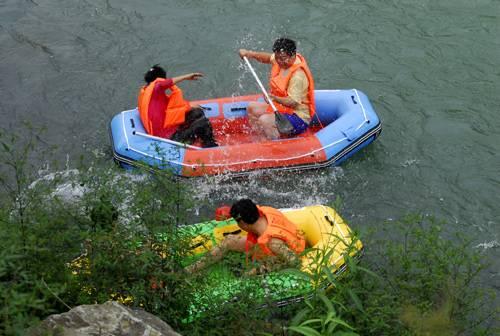 2020杭州千岛湖白云溪漂流门票