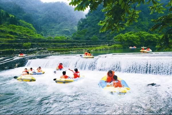 2020杭州千岛湖九龙溪漂流门票