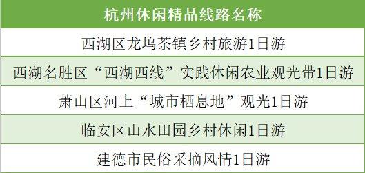 杭州一日游线路推荐(线路 游玩攻略)