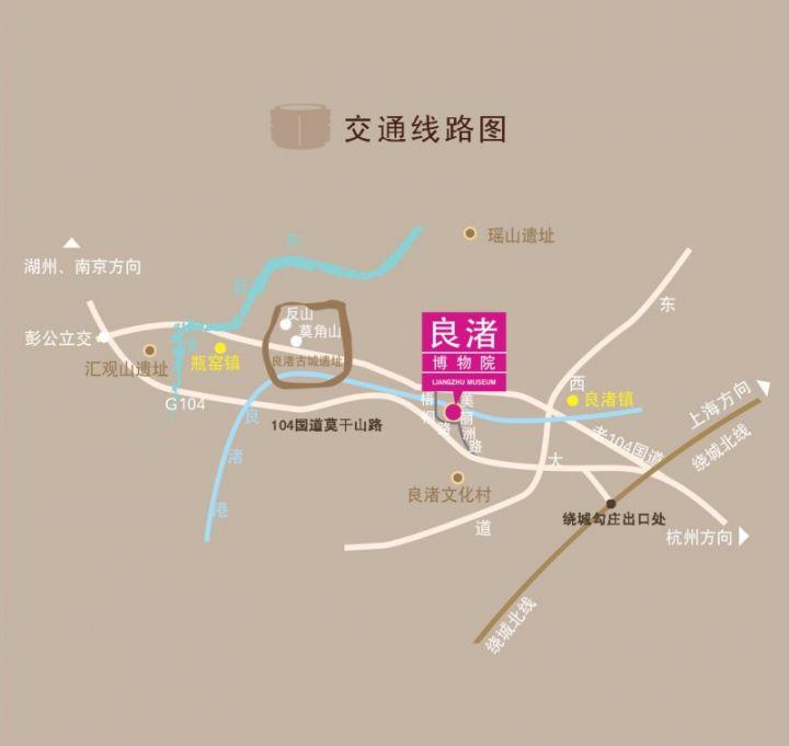 良渚博物院怎么去