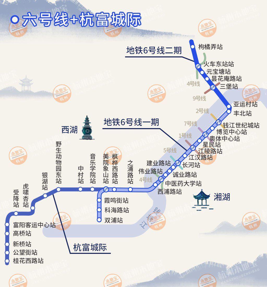 杭富城際鐵路都是地下線嗎?