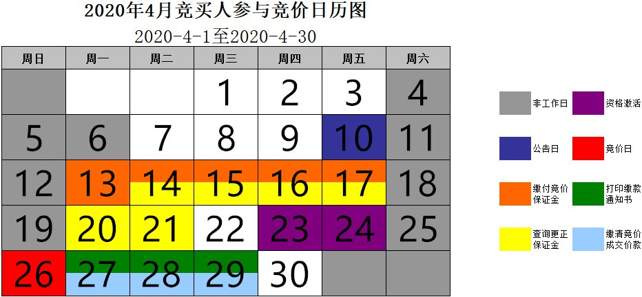 杭州車牌競價日歷圖(每月更新)