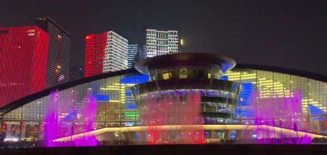 2020杭州钱江新城灯光秀春节播放时间一览