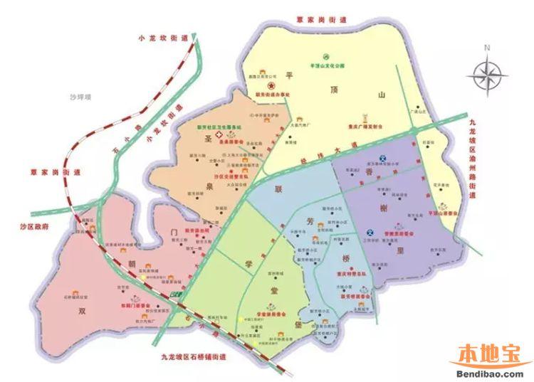 重庆主城九区地图_重庆主城九区人口