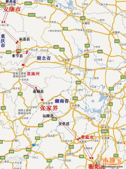 湖南十二五高铁规划_安张衡铁路站点设置(重庆境内站点+全线站点)- 重庆本地宝