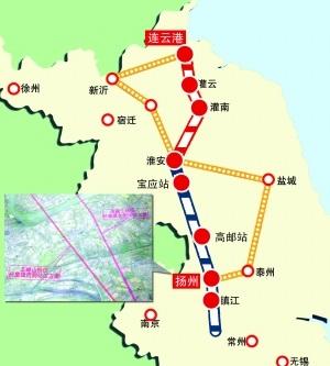 连淮扬镇铁路