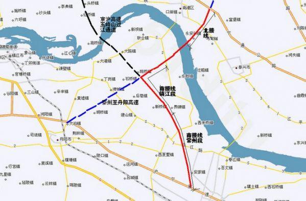 镇丹高速公路规划图