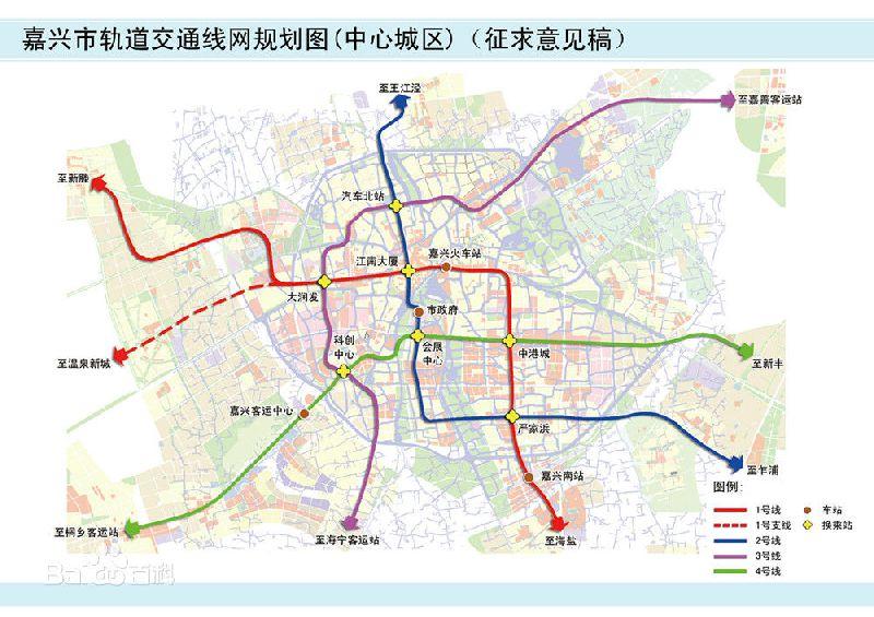 嘉兴地铁3号线线路图图片