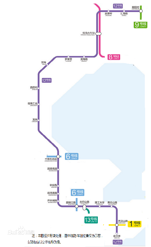 青岛地铁12号线规划线路图图片