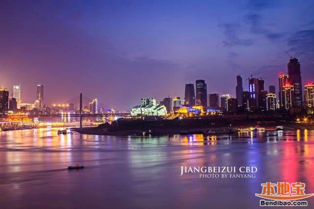 重庆主城旅游路线:不夜之城观光休闲之旅
