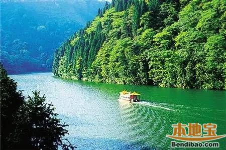 重庆避暑休闲度假全景地图