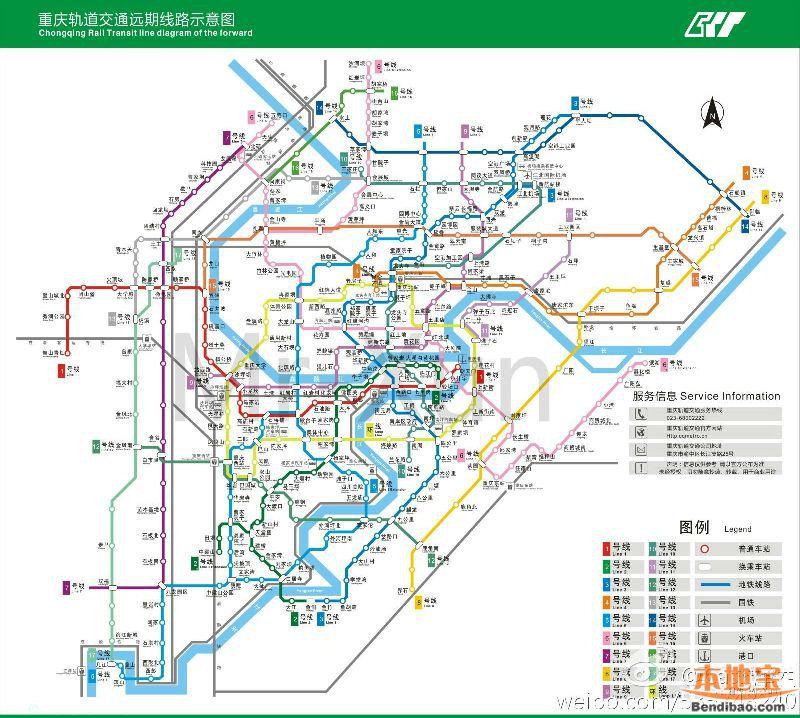 重庆轻轨11号线线路规划图图片