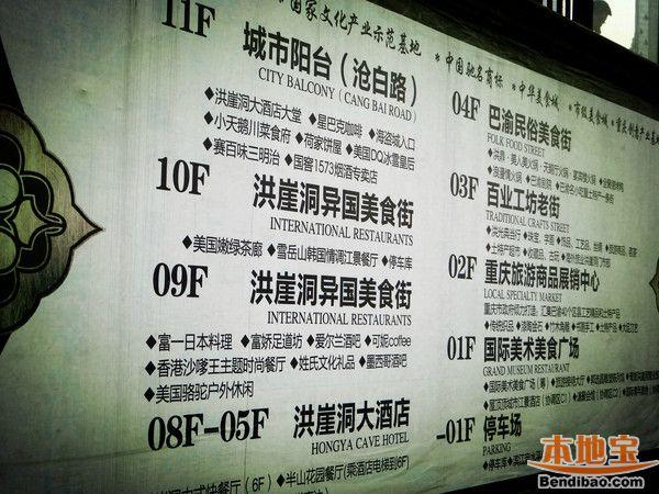 重庆洪崖洞攻略图片