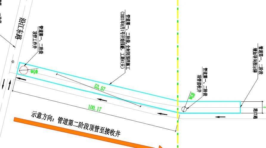 2021開平三埠街道港口路污水管網施工時間 施工路段