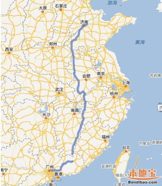 广东教育服务网_济广高速路线图- 济南本地宝