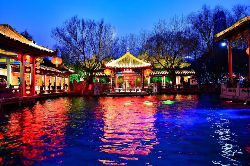 2020年济南趵突泉迎春灯会时间