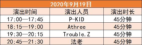嘉兴2020海宁潮音乐节几点结束?具体演出时间一览