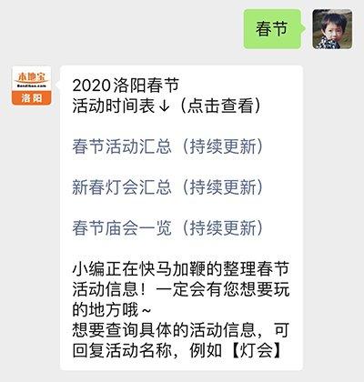 2020洛阳春节灯会时间